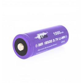 Accu 18500 Efest 1000 mah 15A Button Top V2